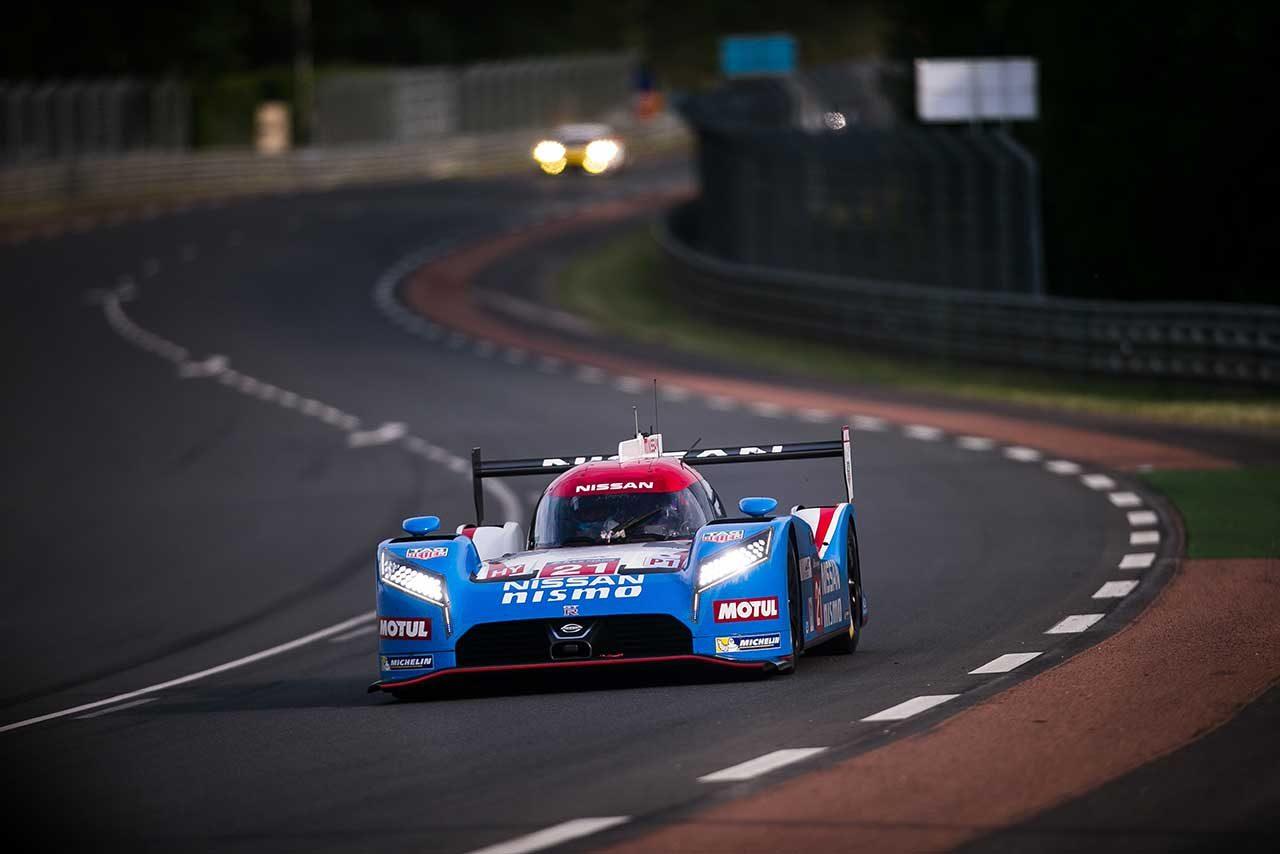 2015 ル・マン24時間レースに挑んだニッサンGT-R LMニスモ
