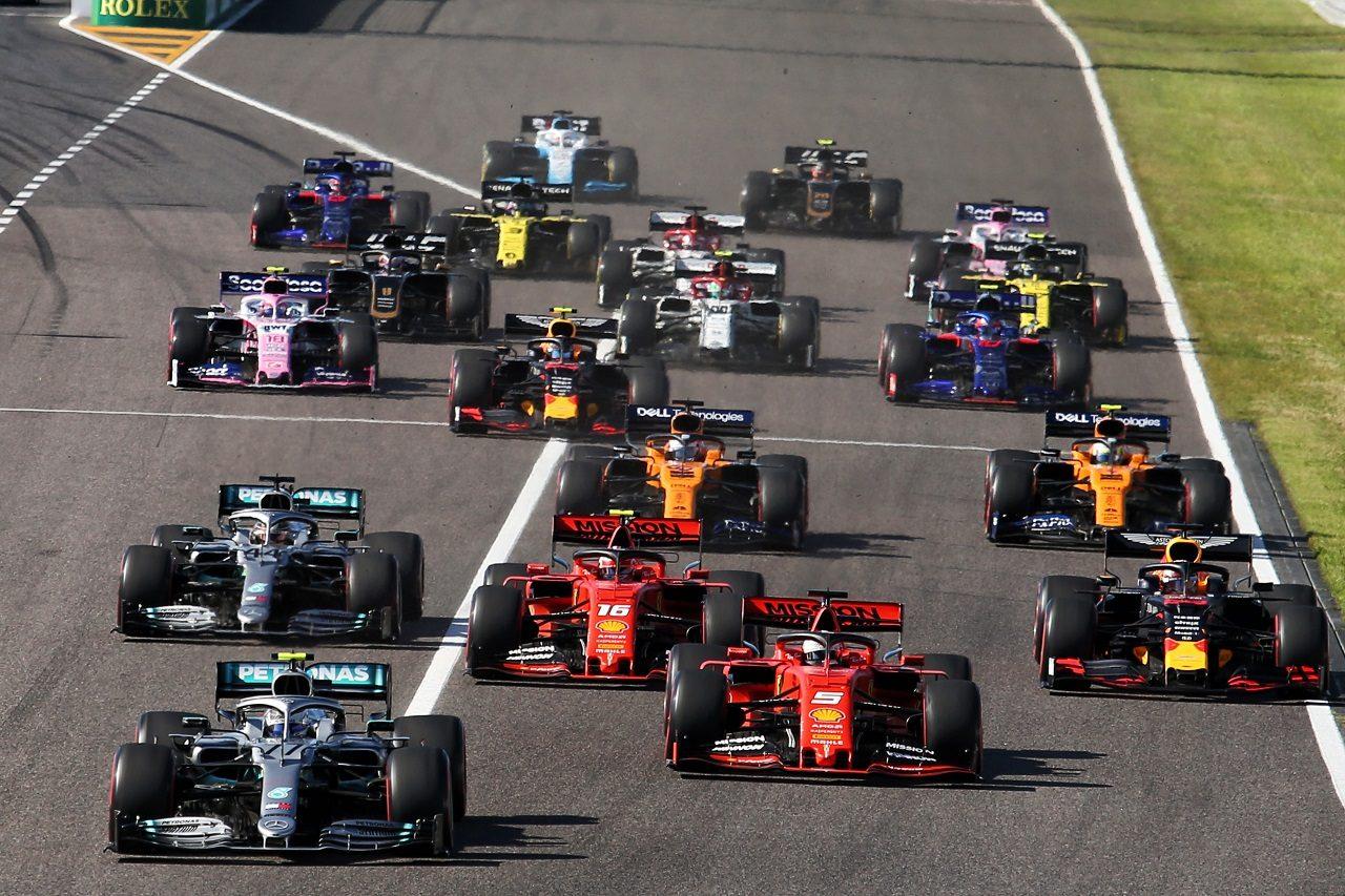 2019年F1日本GPスタート