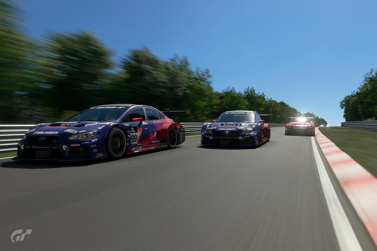 TGR&スバル共催の『e-Nurburgring Race』はモリゾウもサプライズ登場! 白熱のバトルで大盛況に終わる