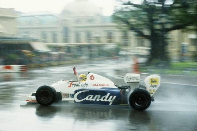 """F1   """"モナコ・マスター""""セナが起こした魔法(1)6勝を可能にした恐るべき正確さ。4ミリのコースの変化を察知"""