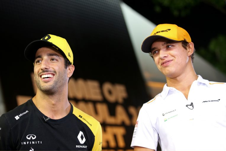 F1 | マクラーレンF1代表「リカルドをナンバーワン扱いするつもりはない」