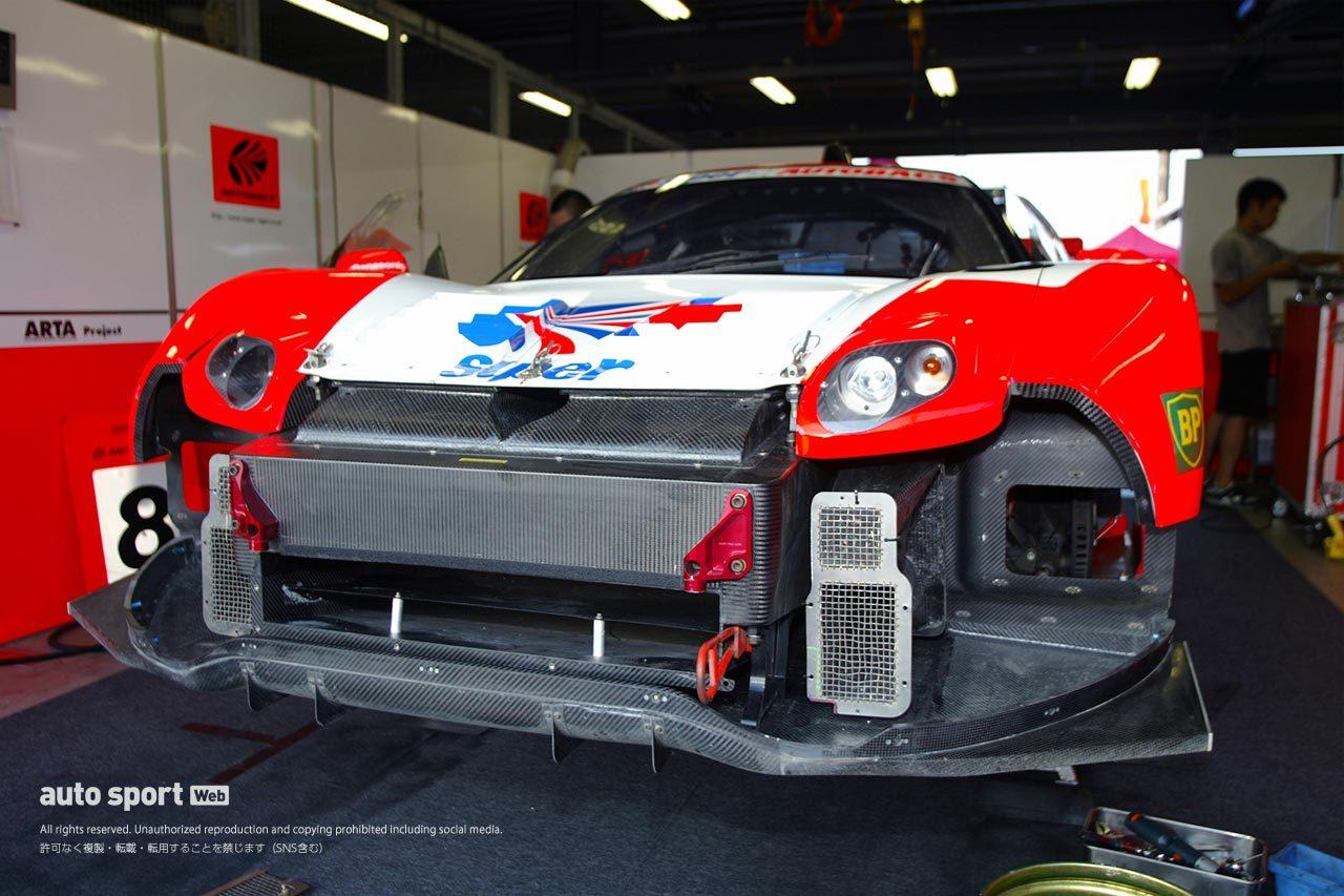 2003年JGTCホンダNSXのフロント