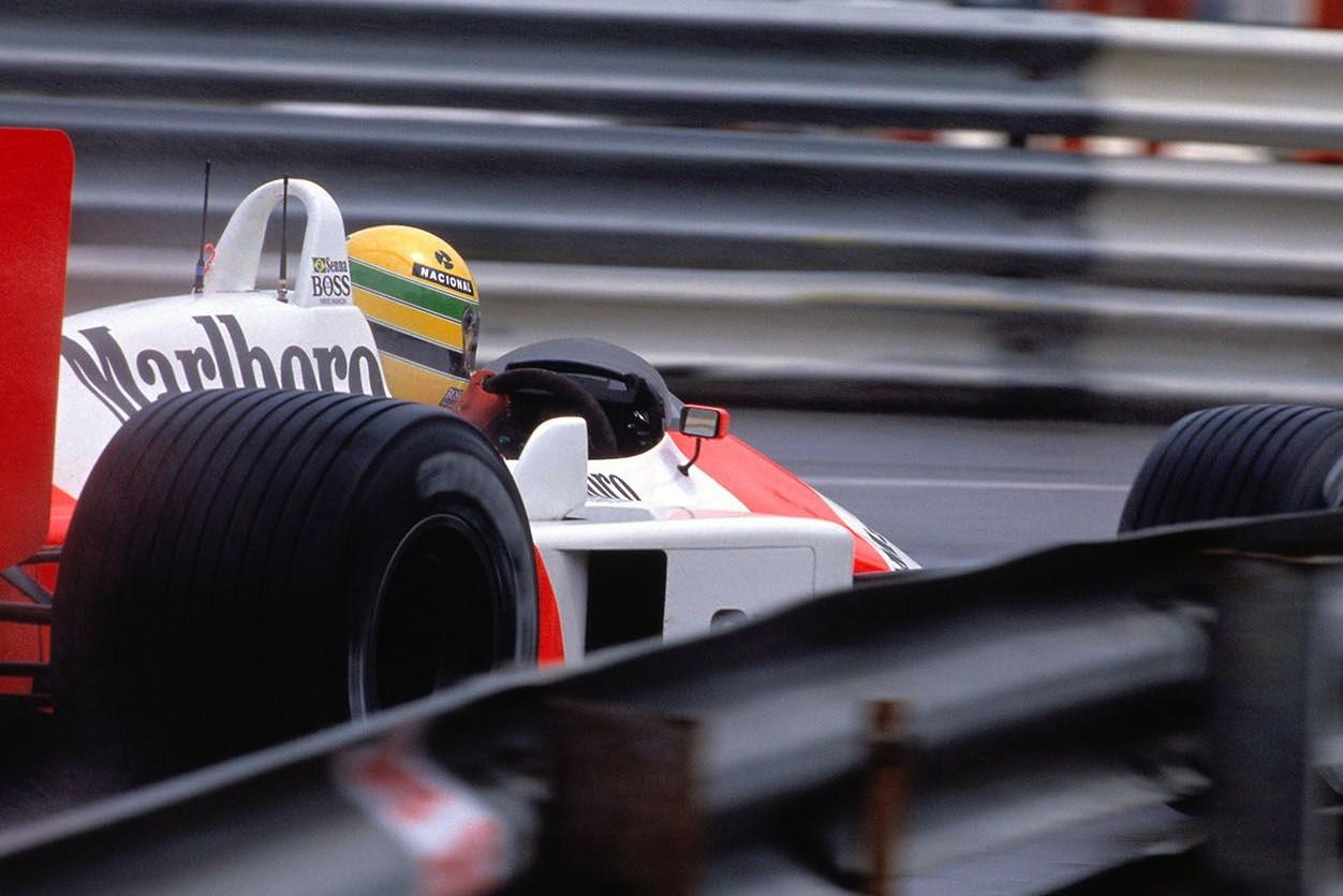 1988年F1モナコGP アイルトン・セナ(マクラーレン)