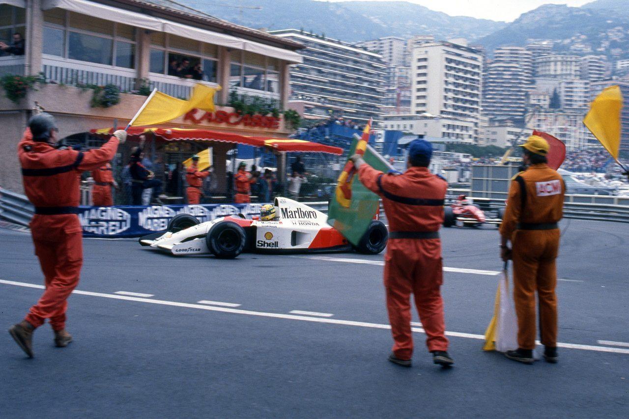 1991年F1モナコGP アイルトン・セナ(マクラーレン)