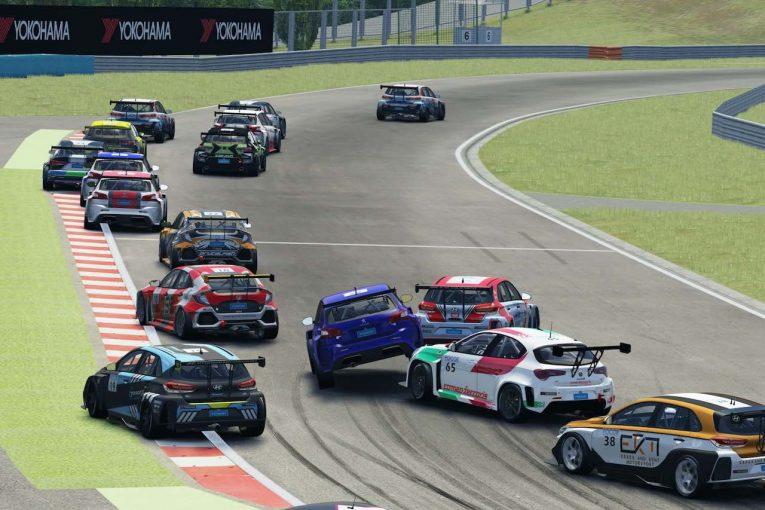 海外レース他 | 『TCRヨーロッパ SIM Racing』第3戦はナジー&オモラのBRGヒュンダイ勢が制覇