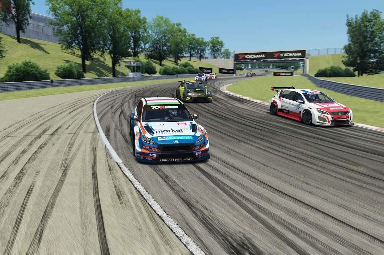 『TCRヨーロッパ SIM Racing』第3戦はナジー&オモラのBRGヒュンダイ勢が制覇