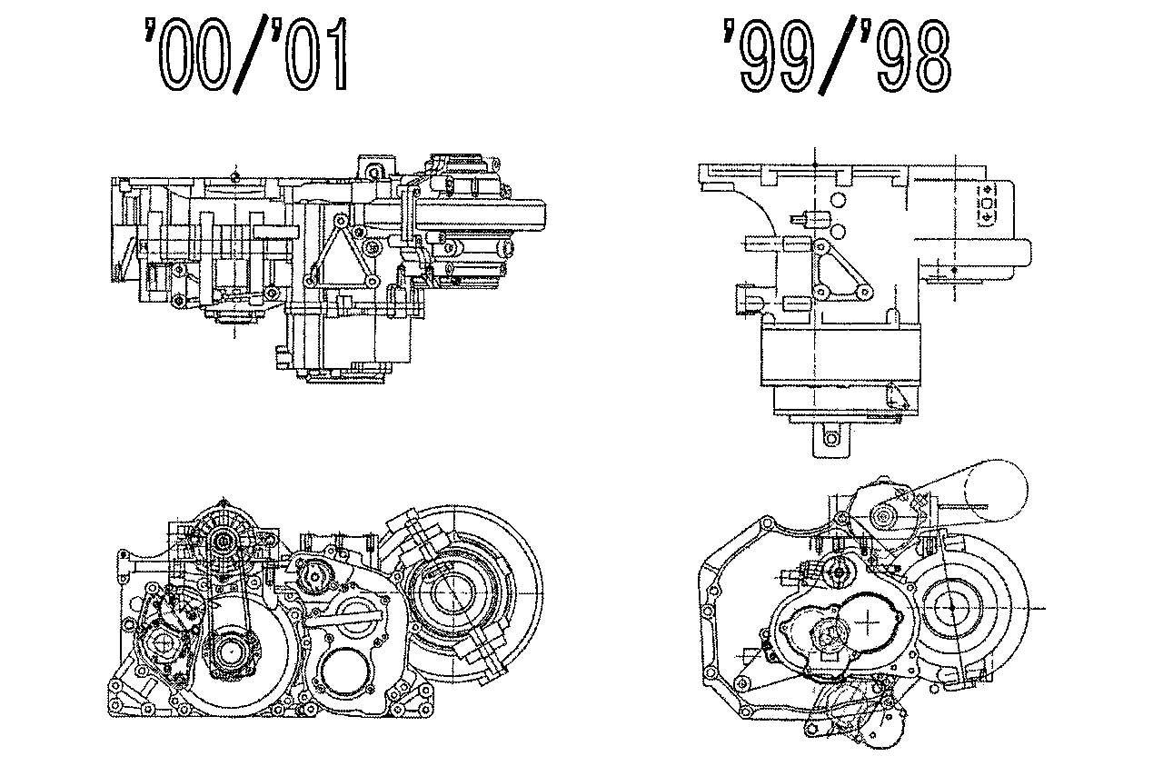 JGTC NSXのギヤボックス図面