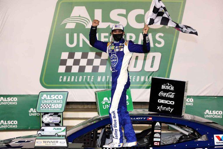 海外レース他   NASCAR:シャーロット2戦目は不運続いていたシボレーのエリオットが優勝。2020年初白星