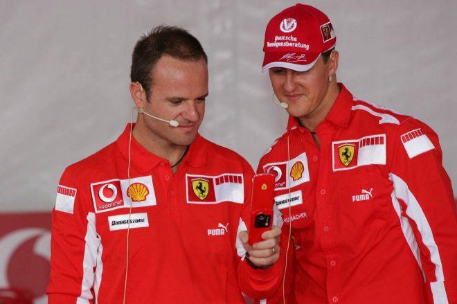 2005年F1:ミハエル・シューマッハーとルーベンス・バリチェロ