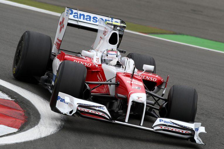 F1 | トヨタF1の最終年に使用されたマシン『TF109-01』がチャリティオークションに出品