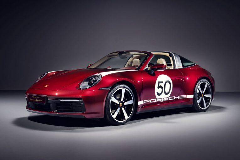 クルマ | ポルシェ、伝統のデザインを最新モデルに。992台限定『911タルガ4S ヘリテージエディション』発表