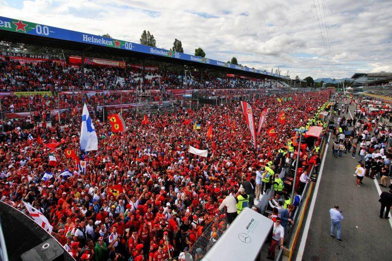 F1 | モンツァ、無観客でのF1イタリアGP開催を発表。開催契約は2025年まで延長へ