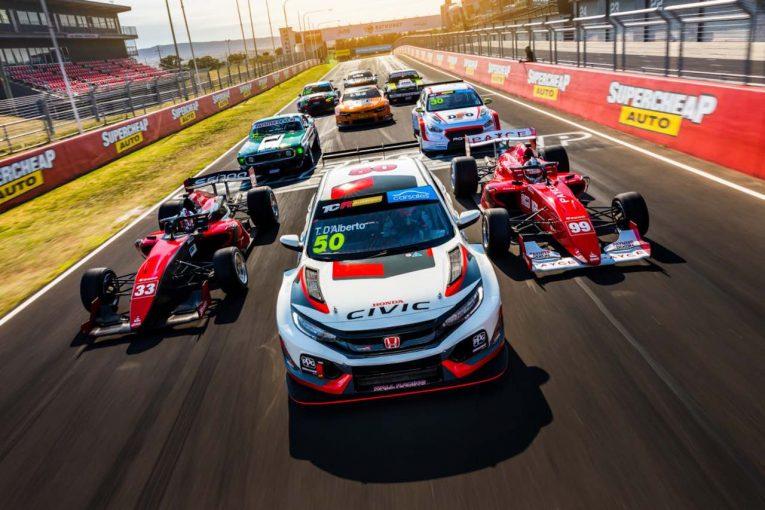海外レース他   TCRオーストラリア:全6戦に縮小の2020年改訂版カレンダー発表。8月のシドニーで開幕