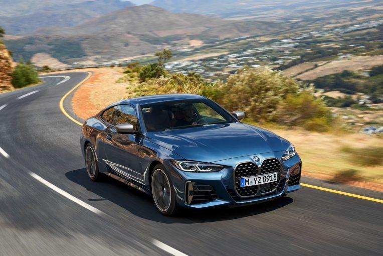 クルマ | 縦長のキドニーグリルが付与された新型『BMW 4シリーズ クーペ』世界初公開