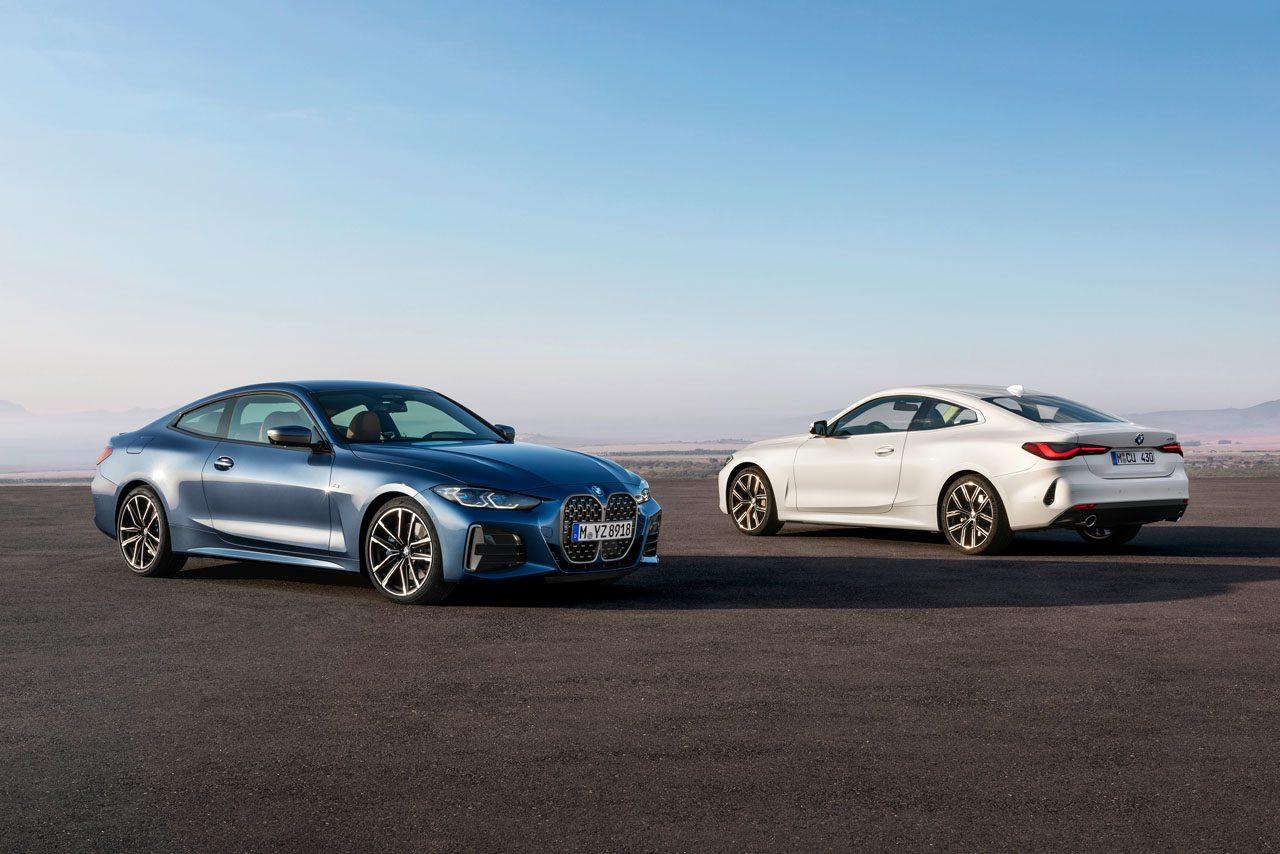 縦長のキドニーグリルが付与された新型『BMW 4シリーズ クーペ』世界初公開