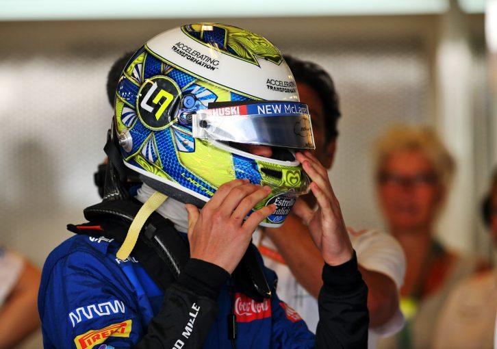F1   開幕に備え、ノリスがF3カーでテスト「久々のF1走行はチャレンジになる。Gフォースに体を慣らしておきたい」