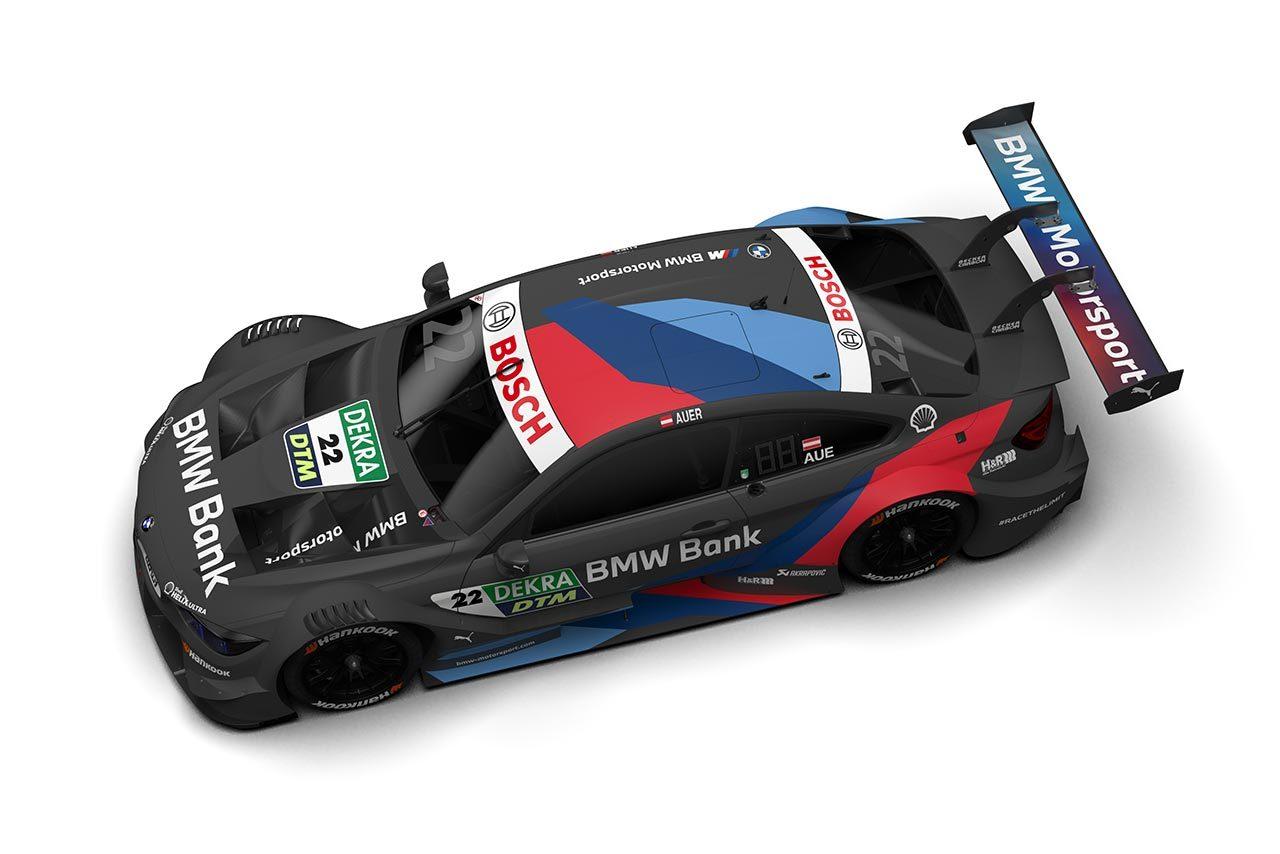 DTM:BMWモータースポーツが参戦する6台のM4 DTMのマシンカラーリングを発表