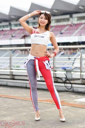 レースクイーン | 加乃ほのか(Freem Motorsport Lady)