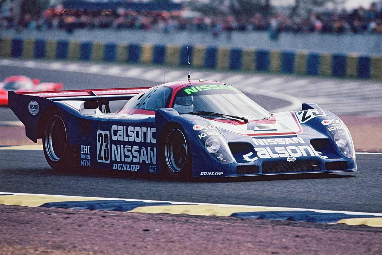 1990年ニッサンR90CP(ル・マン24時間)