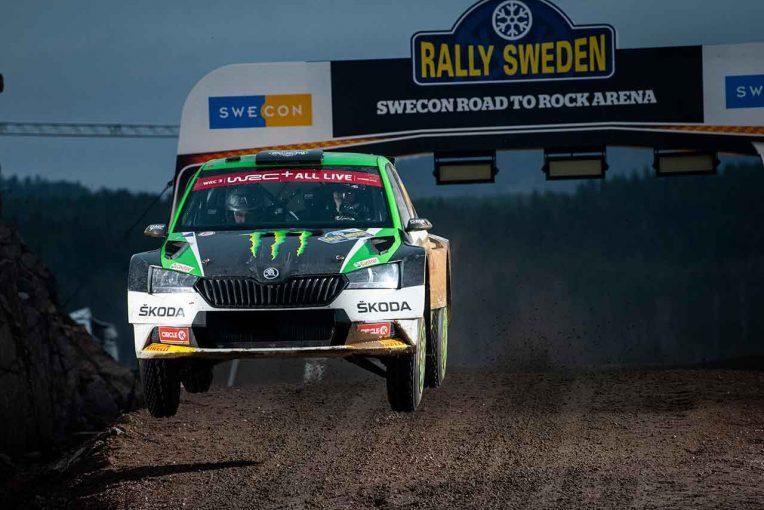ラリー/WRC | スウェーデンで無観客ラリーイベント開催。オリバー・ソルベルグやエクストロームなど出場