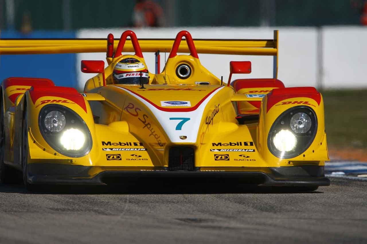 ペンスキーレーシングの7号車ポルシェRSスパイダー