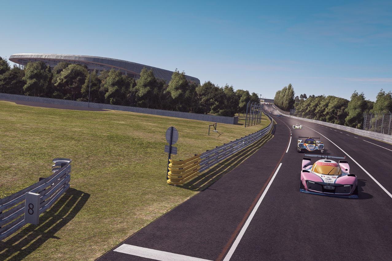 ミッションH24、eレースにも進出。燃料電池プロトが『ル・マン24時間バーチャル』のセーフティカーに