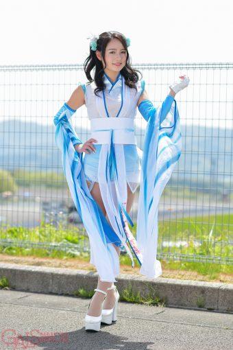 レースクイーン   五十嵐みさ(SYNTIUM Cool Tech ANELA)