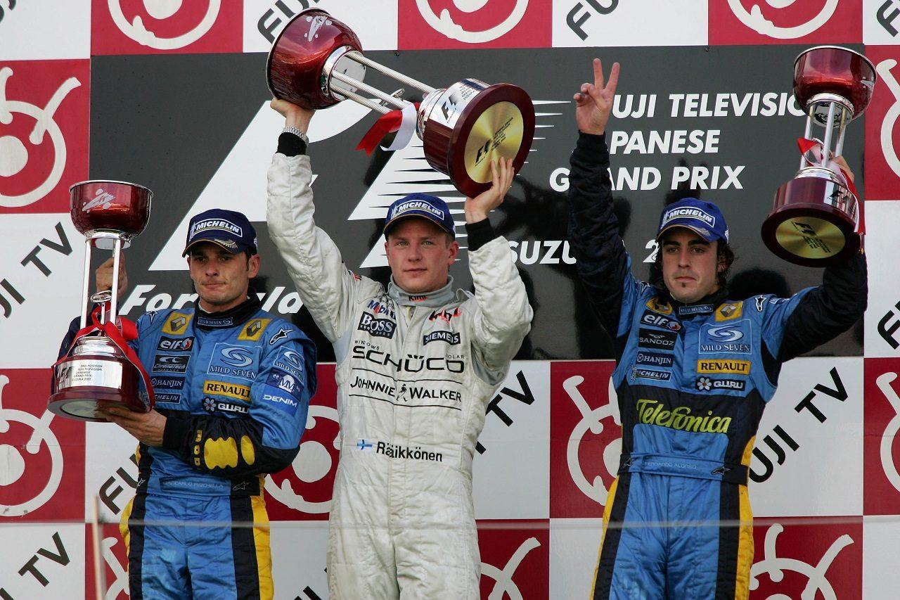 Photo of F1名レース無料配信 2005年日本GP:ライコネンが17番手から大逆転の勝利。アロンソの名オーバーテイクも   F1   autospor   オートスポーツweb