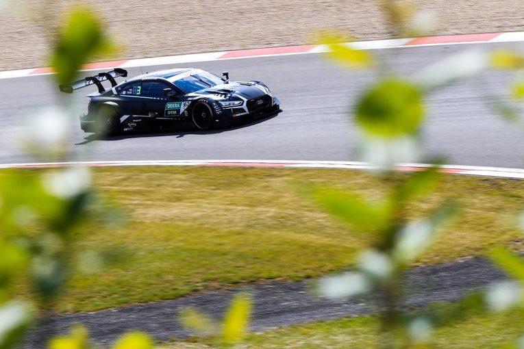海外レース他 | DTMニュルブルクリンク公式テスト:2日目はハプスブルクのアウディがトップタイムを記録