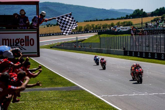 2019MotoGP第6戦イタリアGP 最終ラップ