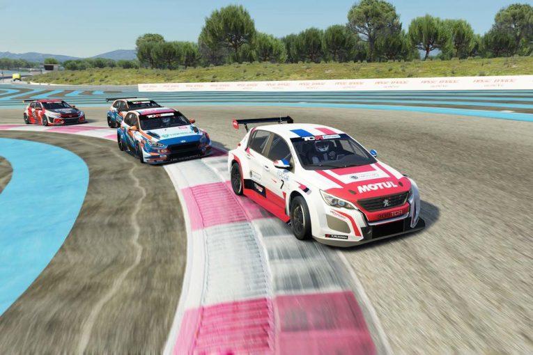 海外レース他 | TCR Europe SIM Racing第4戦でナジーが開幕4連勝。プジョー308のコンテも初勝利