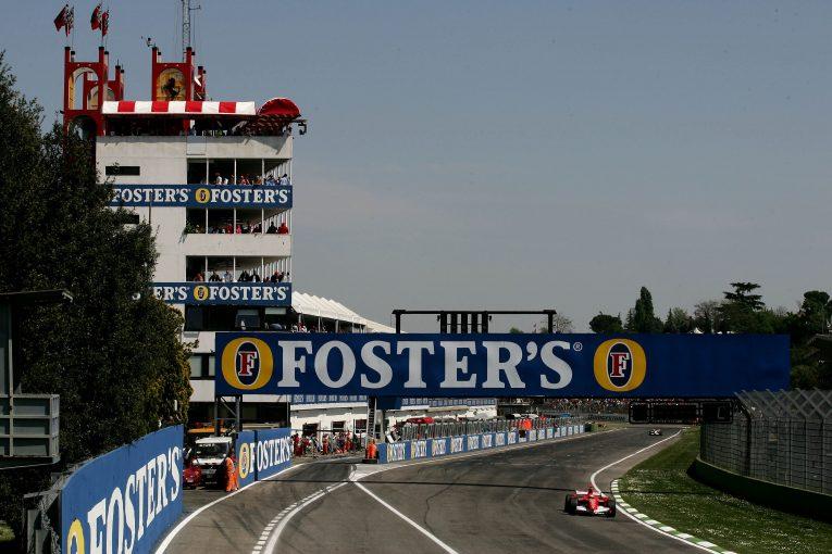 F1 | F1イモラ戦のスケジュールが確定。2デー開催でフリープラクティスは90分1回のみ