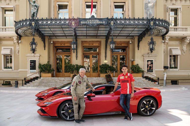 F1   【動画】ルクレールがSF90ストラダーレでモナコを疾走。クロード・ルルーシュの短編映画公開