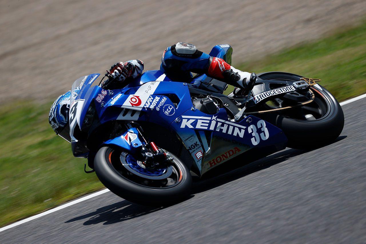 Keihin Honda Dream SI Racingが鈴鹿でテストを開始/全日本ロード
