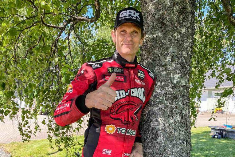 ラリー/WRC | 元WRC王者マーカス・グロンホルムがラリークロス・ノルディック開幕戦に参戦。約8年ぶりドライブへ