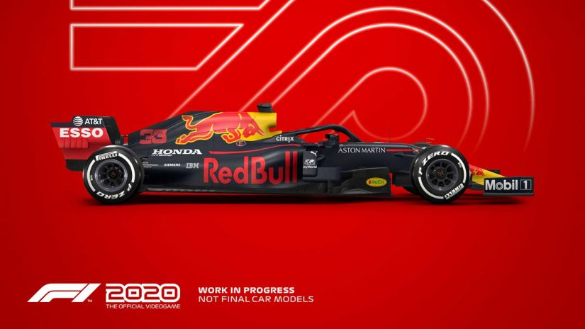 F1   F1公認ゲーム『F1 2020』の日本語版が9月24日発売。自分のF1チームを作れる新モードも搭載