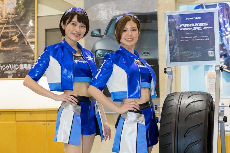 レースクイーン | D1GP登場の2020 Team TOYO TIRES DRIFT GALSがコスチューム姿を披露