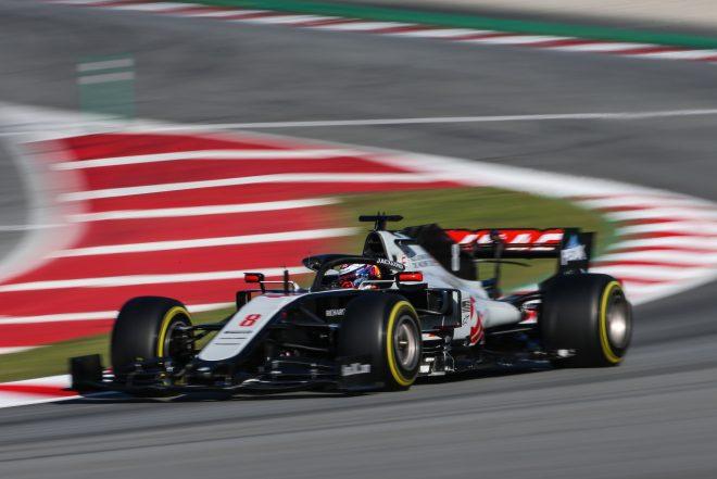2020年F1プレシーズンテスト ロマン・グロージャン(ハース)