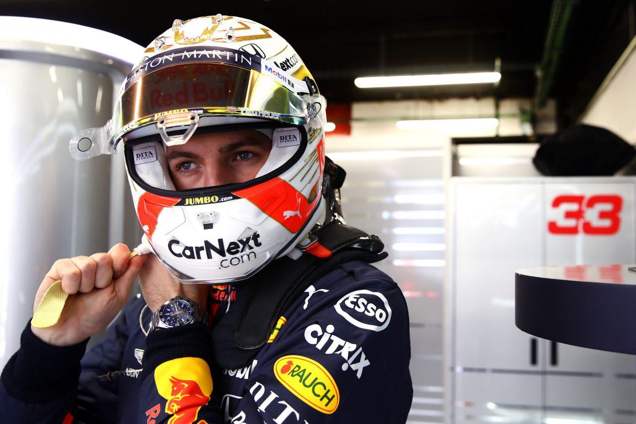 2020年F1プレシーズンテストでのマックス・フェルスタッペン(レッドブル・ホンダ)