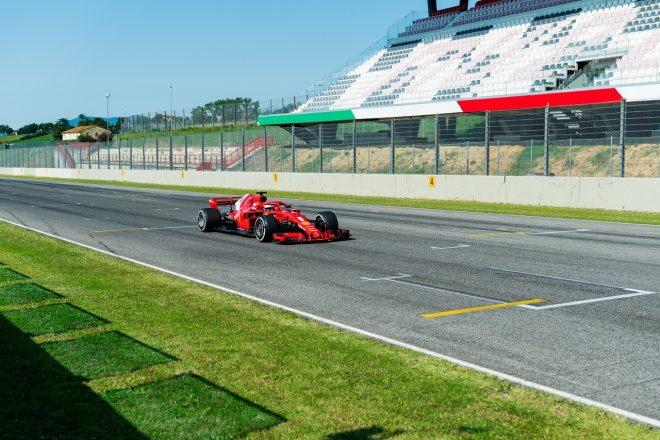 2020年フェラーリF1ムジェロテスト セバスチャン・ベッテル(フェラーリSF71H)