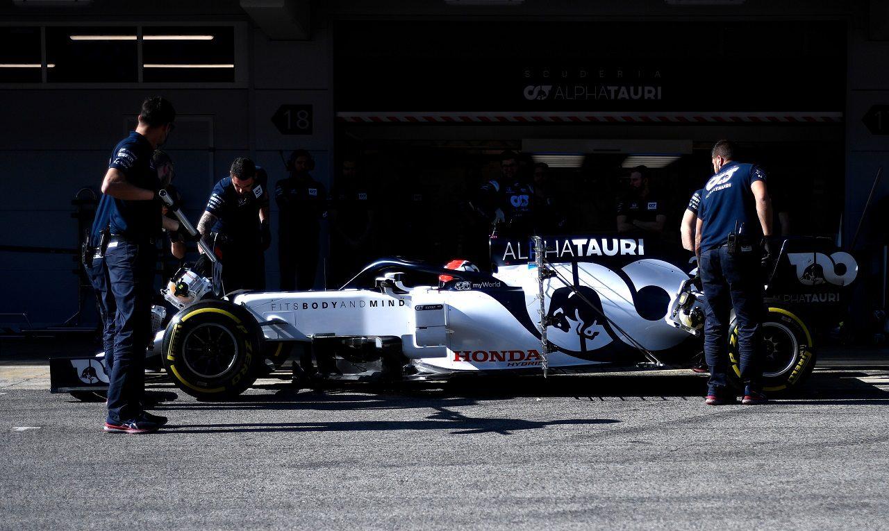 2020年F1プレシーズンテスト ダニール・クビアト(アルファタウリAT01・ホンダ)