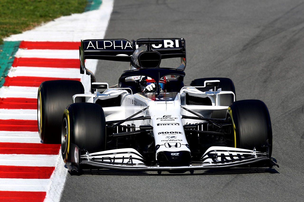 2020年F1プレシーズンテスト ピエール・ガスリー(アルファタウリAT01・ホンダ)