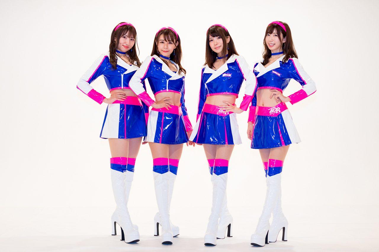 勝利の女神「WAKO'S GIRLS」が2020年レースクイーンコスチュームをお披露目