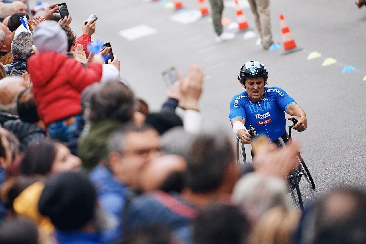 2019年パラサイクリング・ワールドカップでのアレックス・ザナルディ
