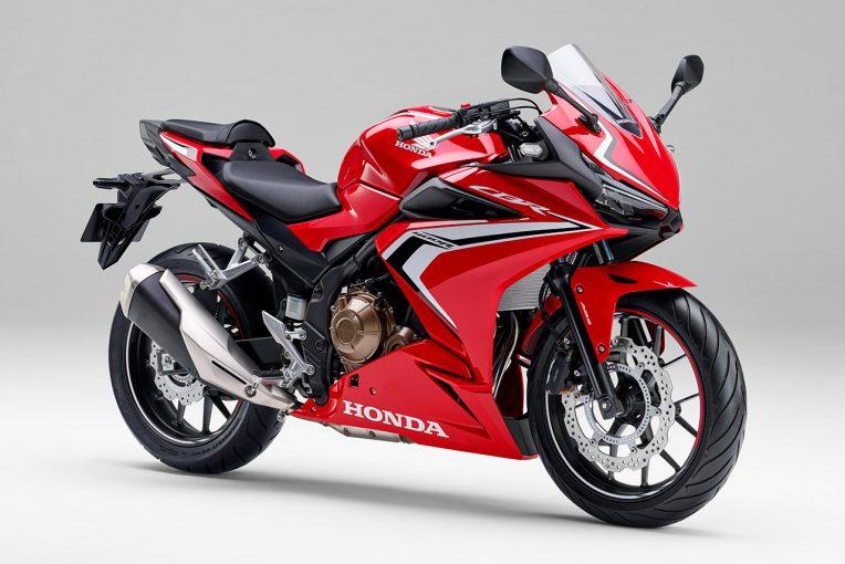 MotoGP | ホンダ『CBR400R』のロゴデザインが変更。最高峰モデルと共通にすることでシリーズの世界観を強化