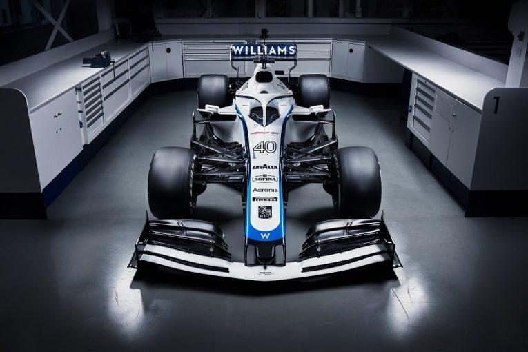 F1 | ウイリアムズF1、スポンサー変更で新カラーリング発表『ROKiT』レッドを外し『SOFINA』ロゴを配置