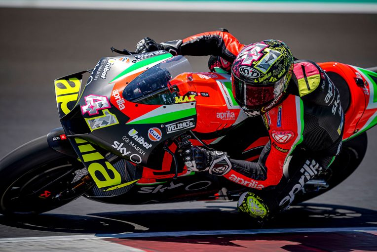 MotoGP | ミサノでMotoGPとSBKのプライベートテストが実施。トップタイムはアプリリアのアレイシ・エスパルガロ