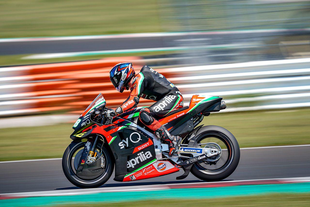 2020年6月ミサノプライベートテスト:ブラッドリー・スミス(アプリリア・レーシング・チーム・グレシーニ)