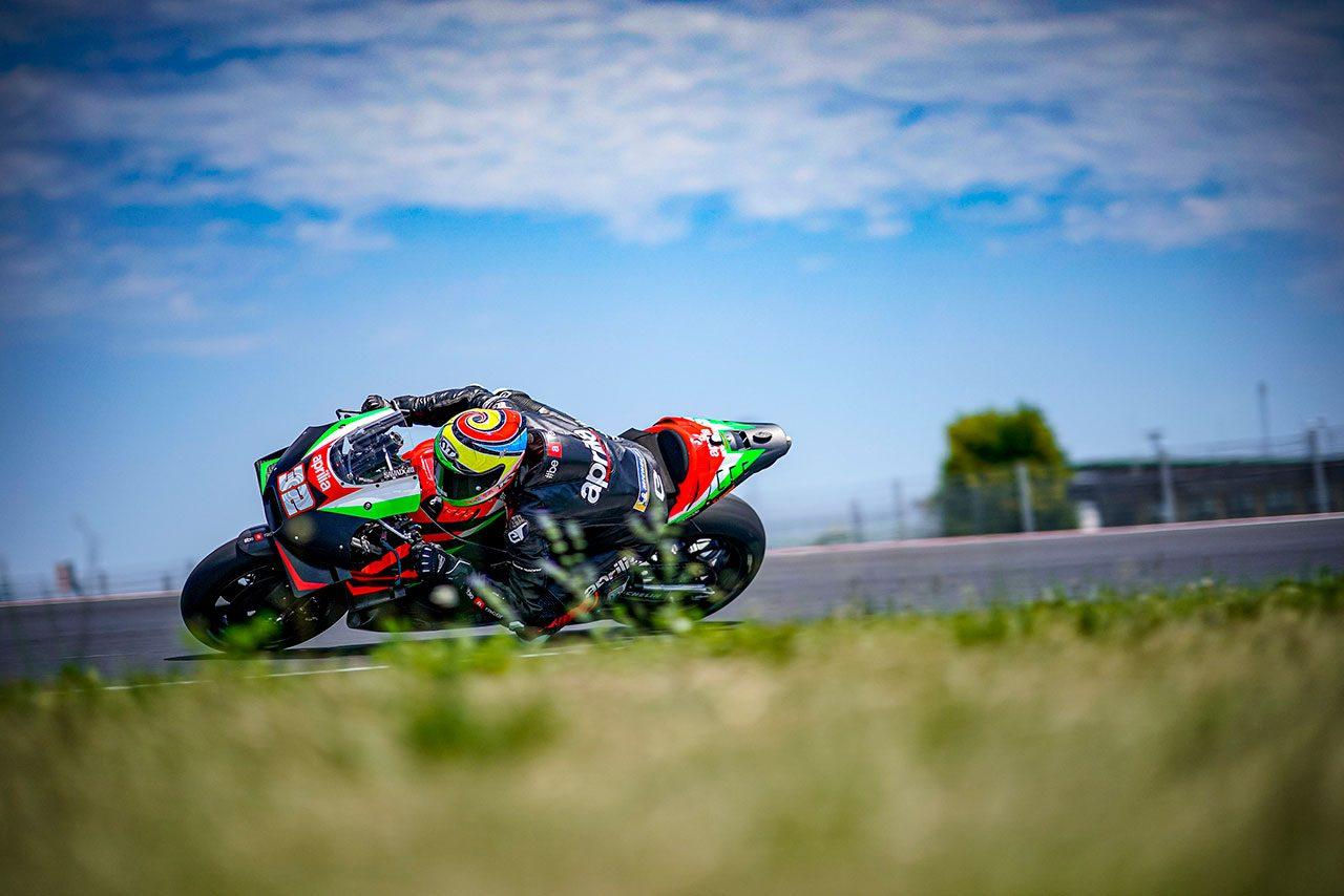2020年6月ミサノプライベートテスト:ロレンツォ・サバドーリ(アプリリア・レーシング・チーム・グレシーニ)