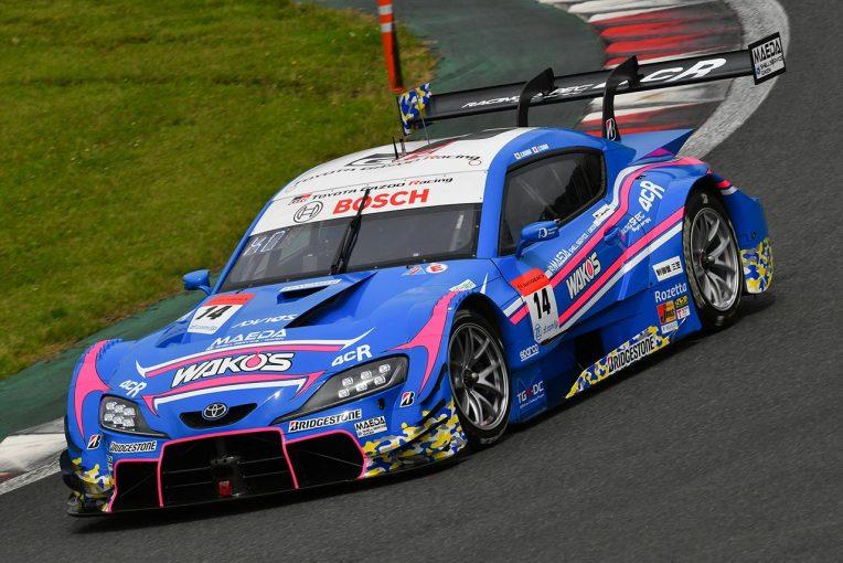 スーパーGT   2020スーパーGT富士公式テスト 走行全車総覧【GT500クラス】